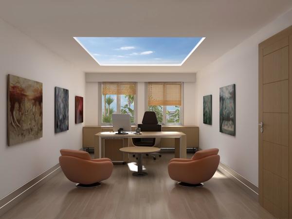 bureau-moderne-super-élégant-en-beige