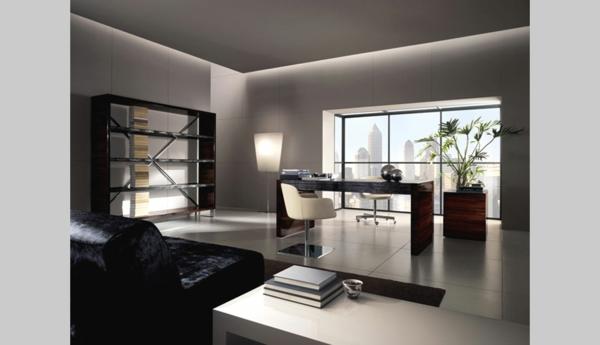 bureau-moderne-surfaces-lisses-et-élégantes