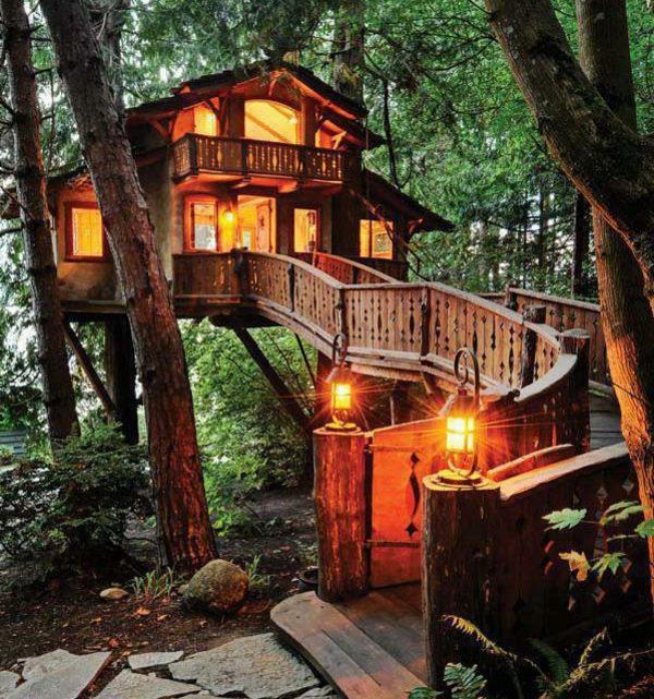 cabanes-dans-les-arbres-une-maison-forestière-fantastique