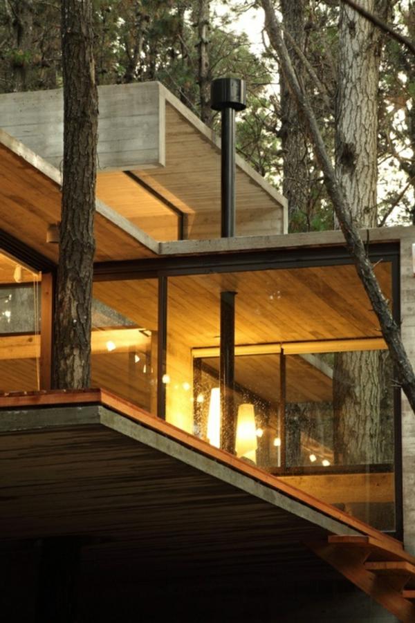Chambre Adulte Lit King Size : Les cabanes dans les arbres  architecture fantastique au coeur de la
