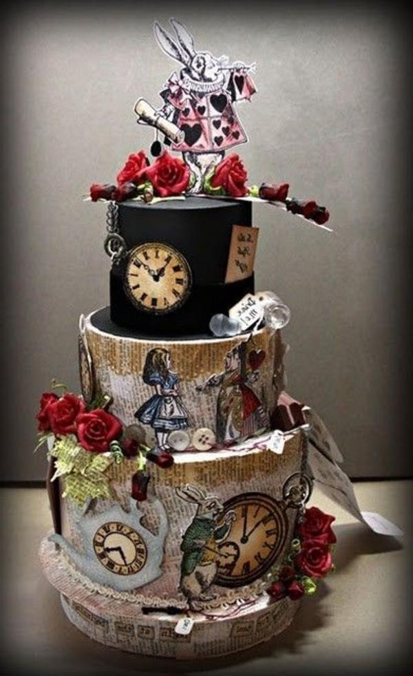 cadeau-original-le-gâteau-de-anniversaire-thematique-alice