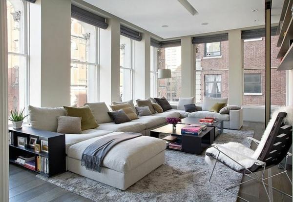 Le canap d 39 angle pour votre salon - Relooker son canape d angle ...