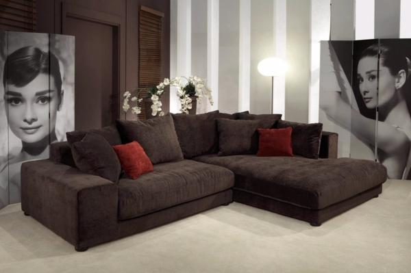 Le canap d 39 angle pour votre salon - Jete pour canape d angle ...
