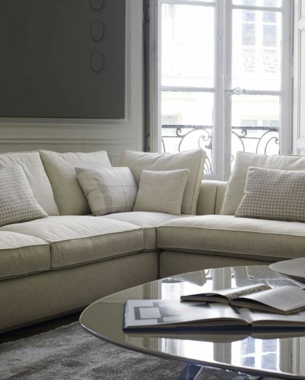 Le canap d 39 angle pour votre salon - Coussin pour canape d angle ...