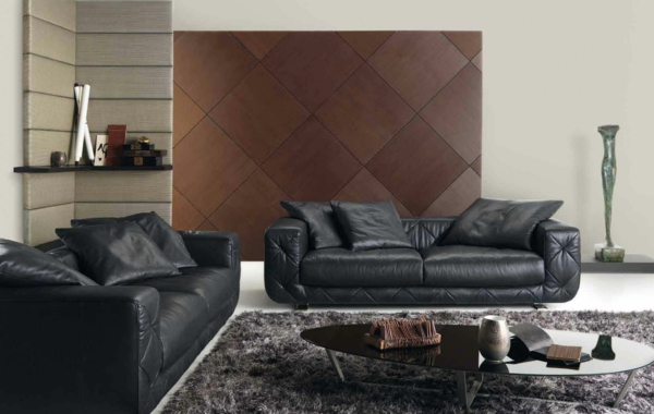 le canap natuzzi confort et style pour l 39 int rieur. Black Bedroom Furniture Sets. Home Design Ideas