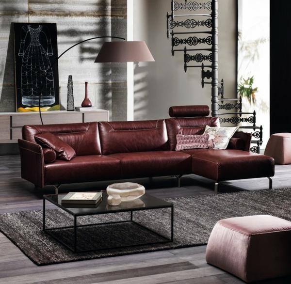canapé-natuzzi-un-sofa-en-cuir-intérieur-artistique