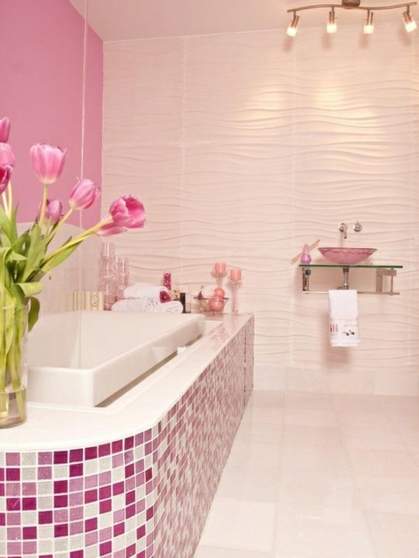 carrelage-mosaique-mosaique-en-rose-et-blanc