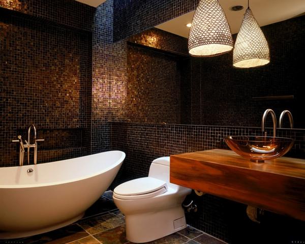 Le carrelage mosaique pour la déco de la salle de bains - Archzine.fr