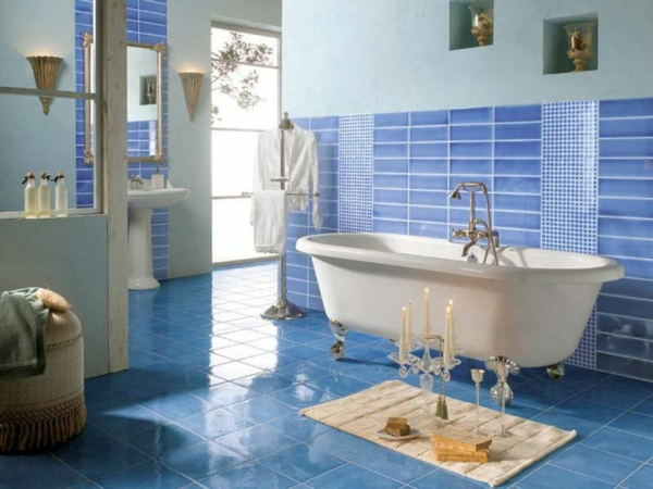 Best Stickers Salle De Bain Mosaique Photos  Amazing House Design
