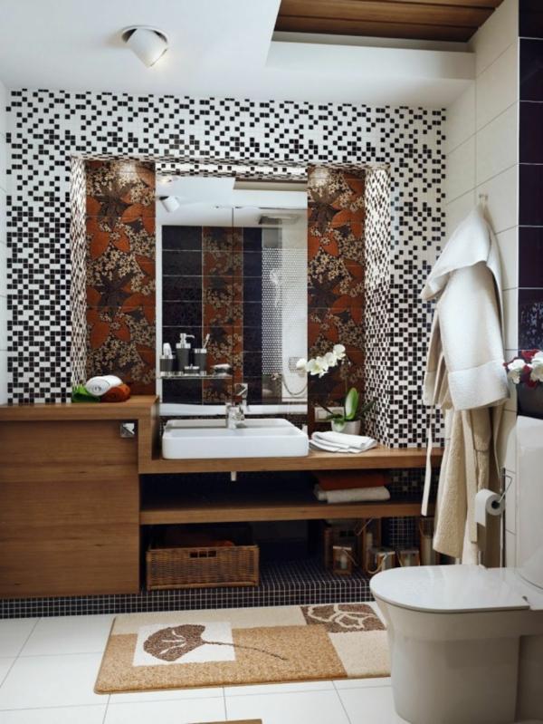 d coration salle de bain mosaique d co sphair. Black Bedroom Furniture Sets. Home Design Ideas