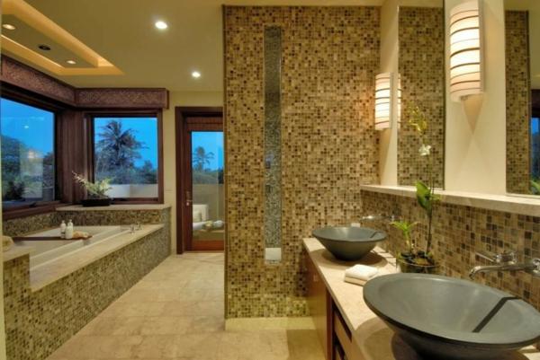 carrelage-mosaique-salle-de-bains-spacieuse-deux-vasques-ovales