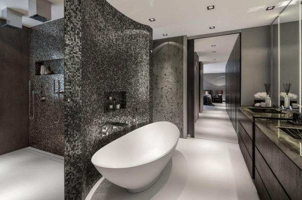 le carrelage mosaique pour la dco de la salle de bains