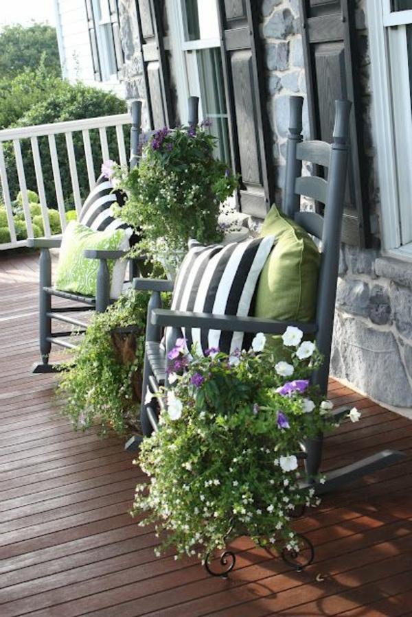 chaise-à-bascule-gris