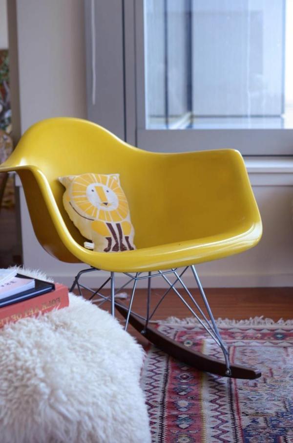 chaise-à-bascule