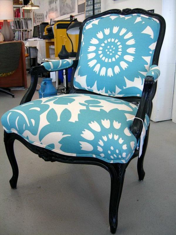chaise-baroc-noir-blue