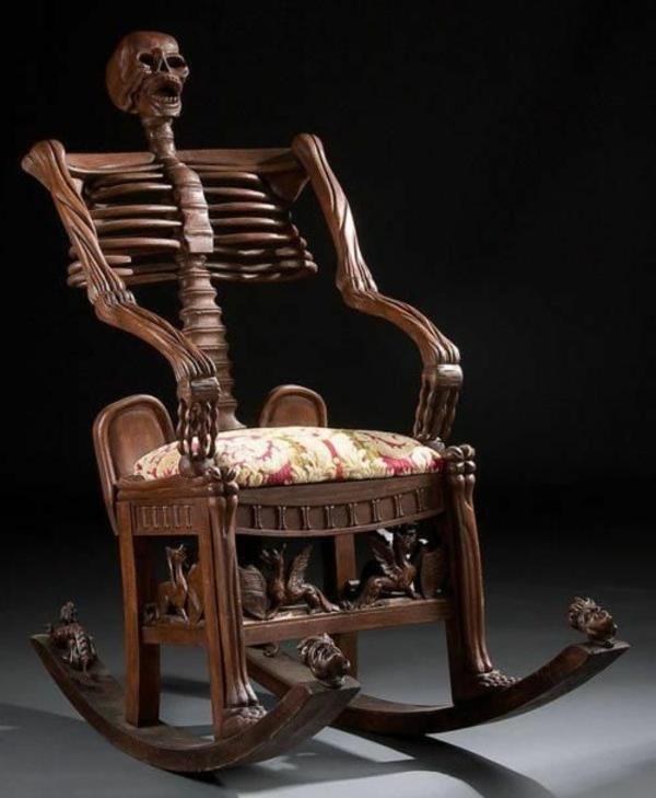 La chaise bascule en 60 photos pour une inspiration for Chaise bercante antique