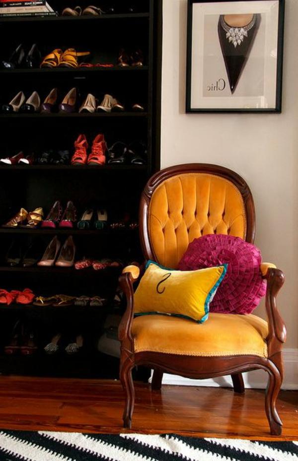 chaise-jaune-baroque