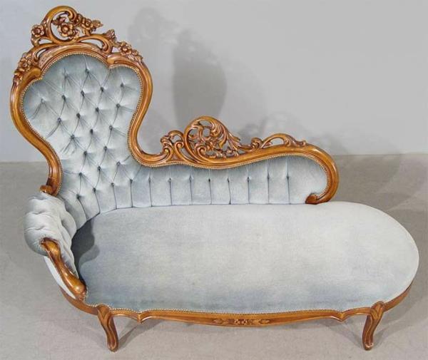chaise-vintage-en-gris