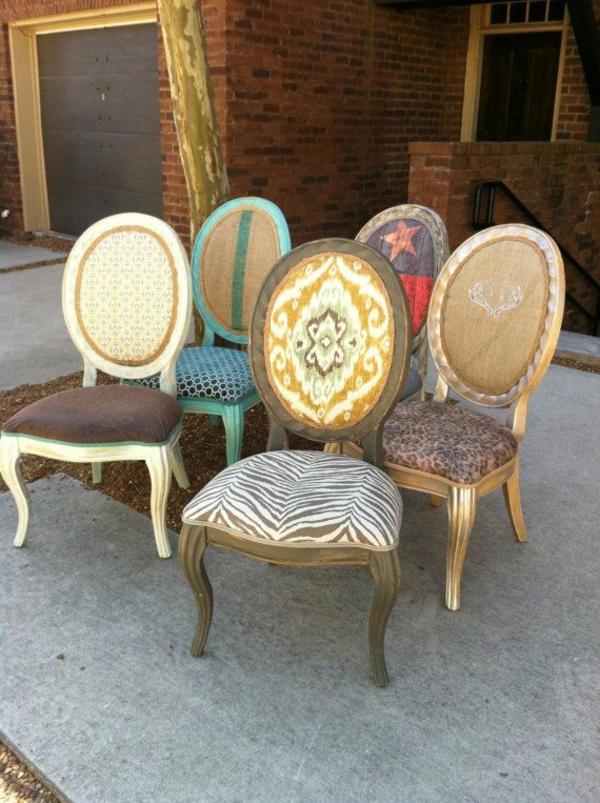 chaises-different-vintage-coloree