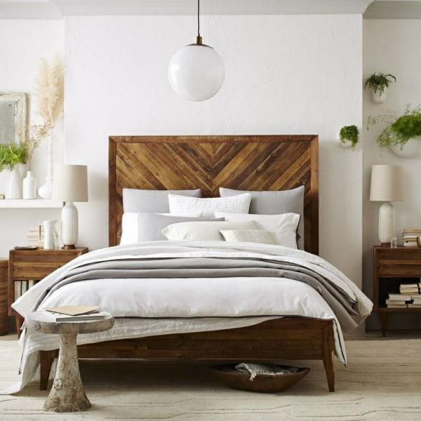 chambre coucher jolie coussins plante verte - Plante Verte Dans Une Chambre A Coucher