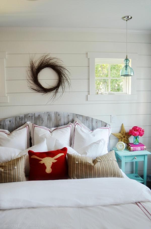 50 id es pour fabriquer une t te de lit - Comment faire une tete de lit avec des coussins ...