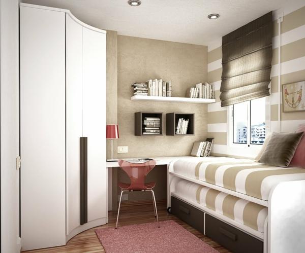60 id es pour un am nagement petit espace for Petit meuble pour chambre adulte