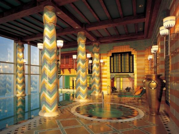chambre-d'hôtel-avec-jacuzzi-chambre-à-Dubai