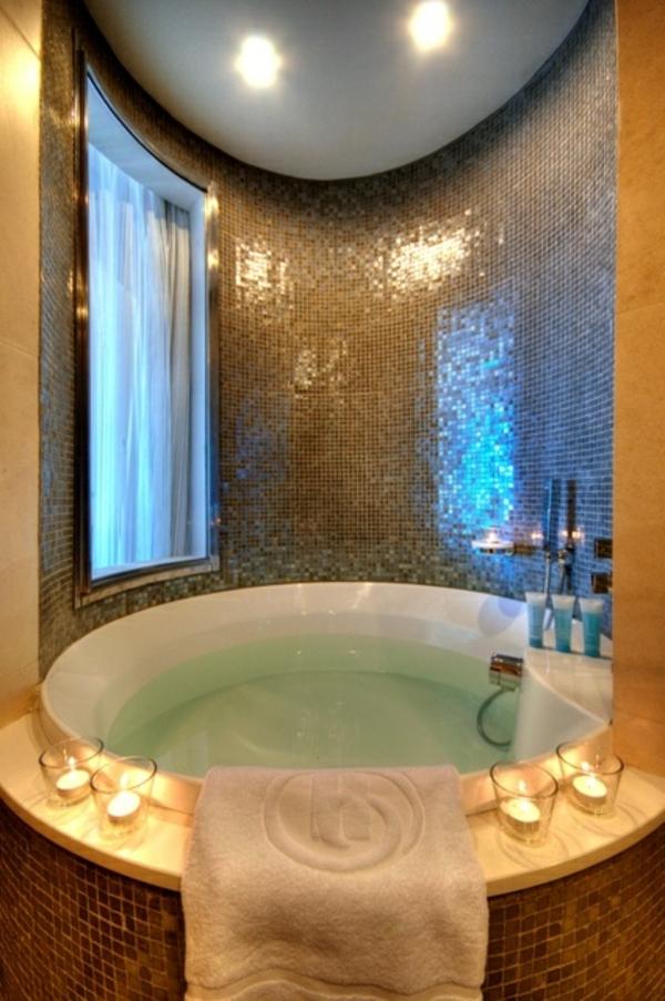 Chambre d 39 h tel avec jaccuzi int rieurs inspirants et vues splendides - Jacuzzi gonflable interieur ...