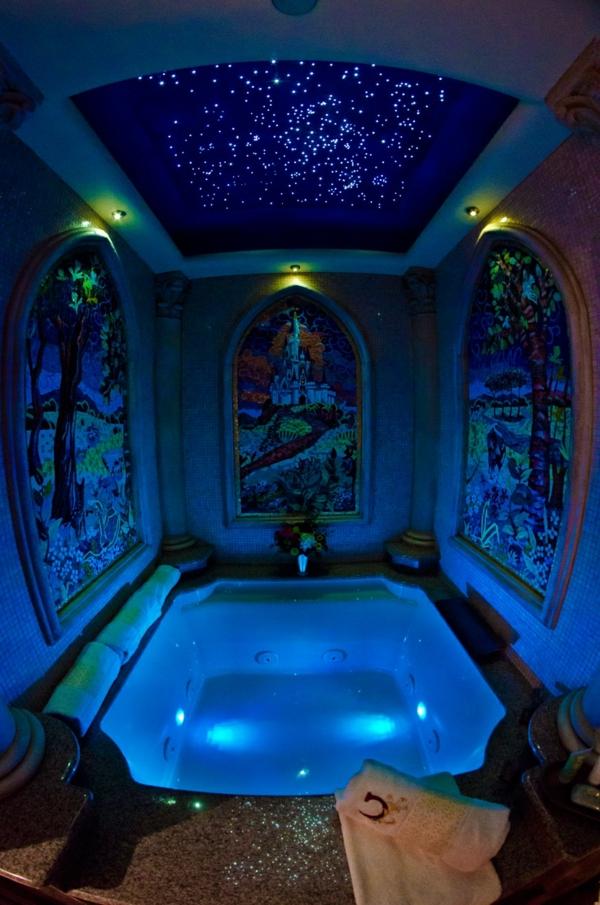 34 chambre dhtel avec jacuzzi la chambre bleue chambre orientale - Chambre Orientale Bleue