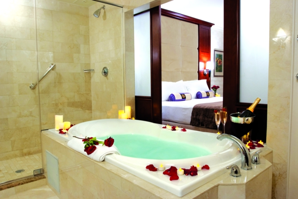 hotel salle de bain avec jacuzzi solutions pour la d coration int rieure de votre maison. Black Bedroom Furniture Sets. Home Design Ideas