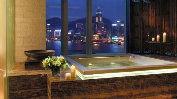 chambre-d'hôtel-avec-jacuzzi-un-hôtel-à-Hong-Kong