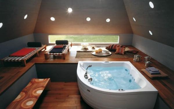 chambre-d'hôtel-avec-jacuzzi-une-baignoire-d'angle-dans-une-chambre-spa