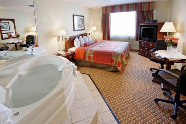 chambre d 39 h tel avec jaccuzi int rieurs inspirants et vues splendides. Black Bedroom Furniture Sets. Home Design Ideas