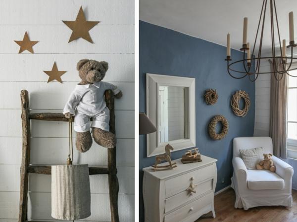 chambre-enfant-avec-étagère-échelle-bien-aménagé