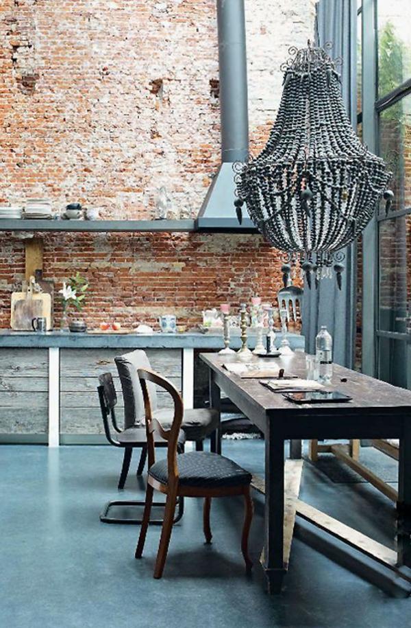 chambre-moderne-originale-pierre-suspension-baroque-intérieur-contemporain-lustre-séjour