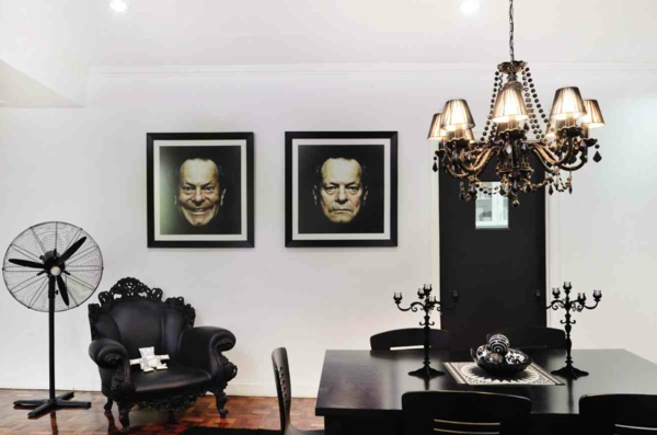 chambre-noir-art-acteur-peinture-moderne-classique-lustre