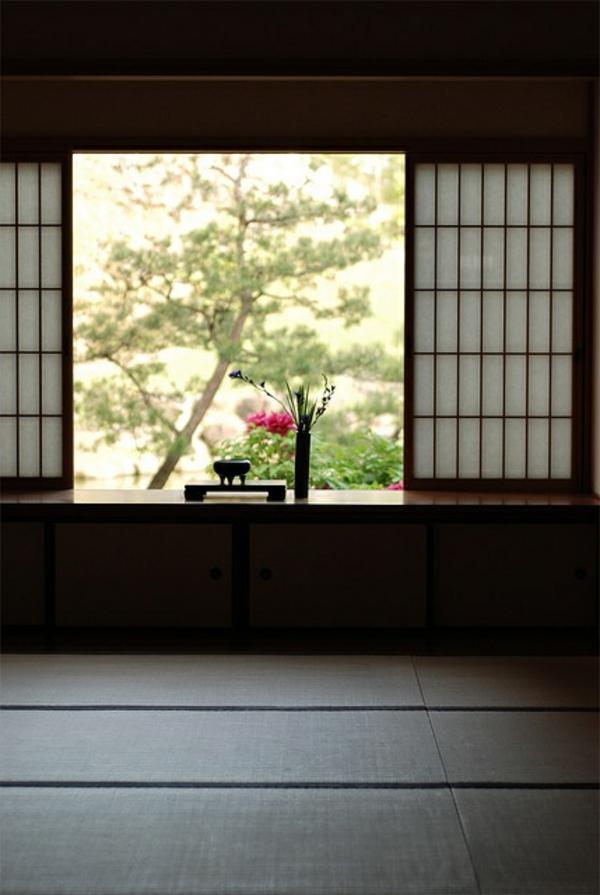 chambre-pour-thé-japonaise-obscure