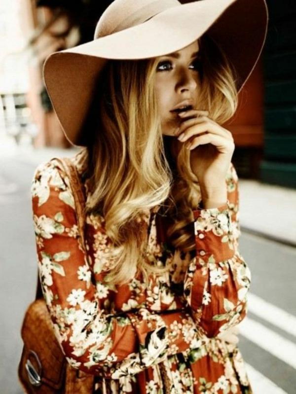 chapeau-élégant-brun