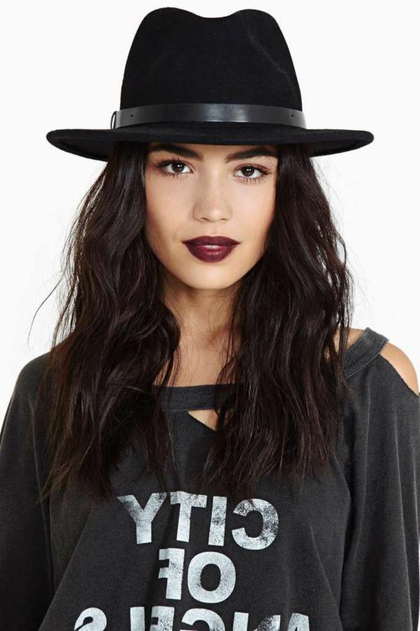 chapeau-élégante-noir