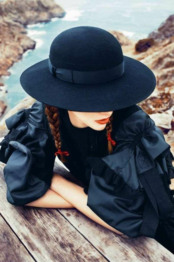 chapeau-élégante-rue-moderne