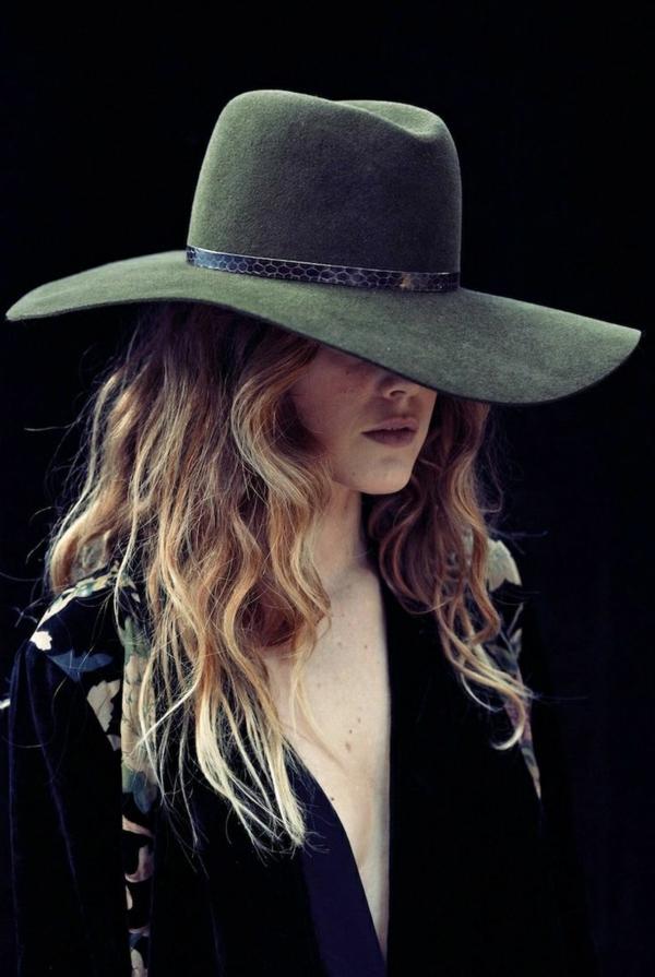 chapeau-en-feutre-vert