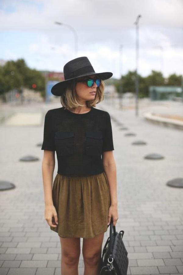 chapeau-feutre-femme-noir-porter