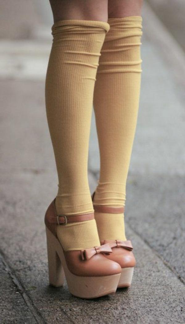 chaussures-à-talon-beige