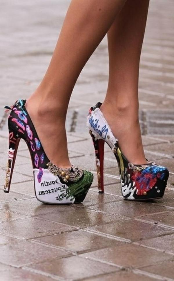 chaussures-à-talon-colorées