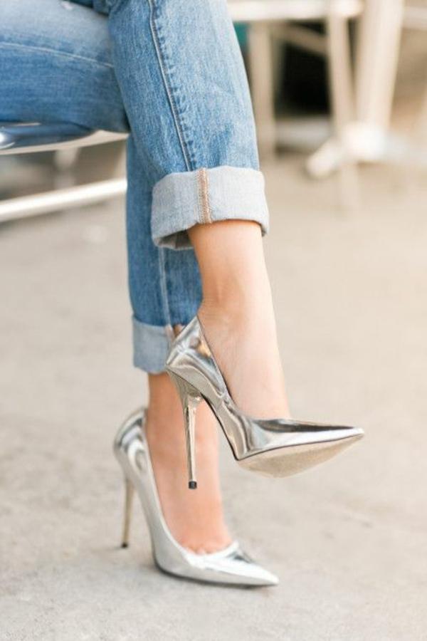 chaussures-à-talon-haut-argent