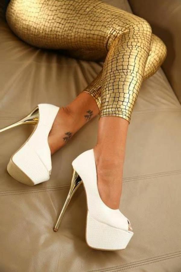 chaussures-à-talon-haut-blanc