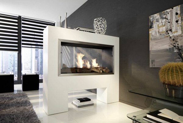 la chemin e bio thanol d coration fantastique avec des flammes. Black Bedroom Furniture Sets. Home Design Ideas