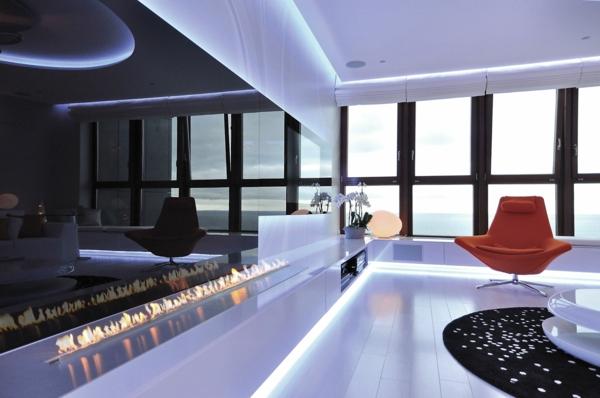la chemin e bio thanol d coration fantastique avec des flammes. Black Bedroom Furniture Sets. Home Design Ideas