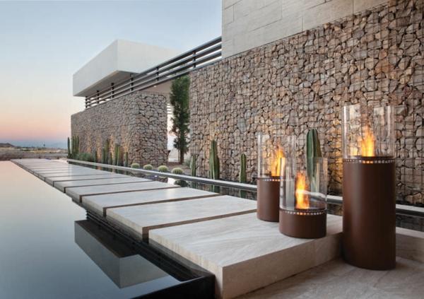 cheminee ethanol terrasse