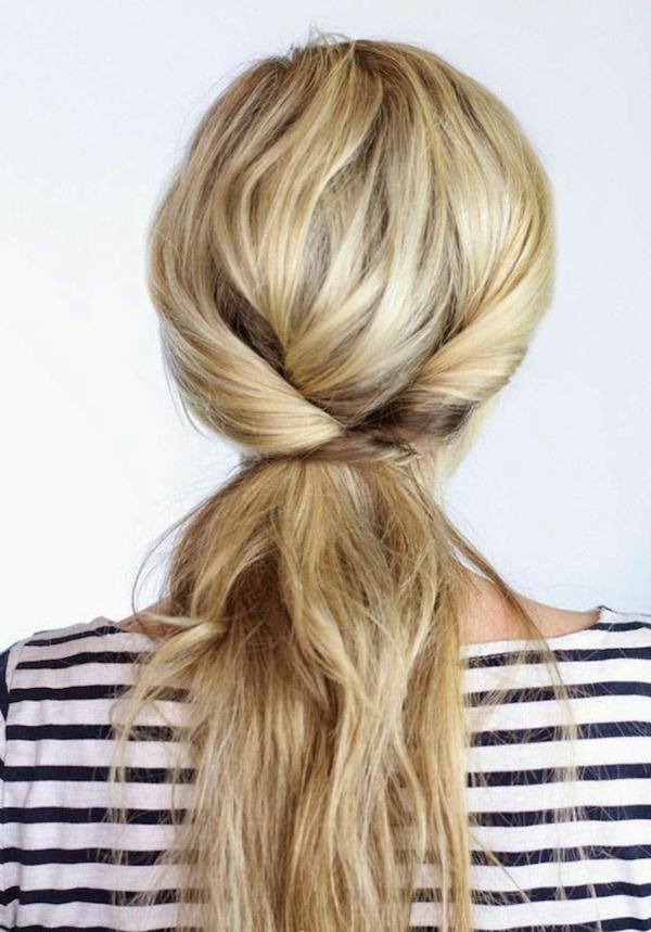 chignon-pour-blonde-cheveux